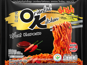 Oriental Kitchen Hot Korean Instant Noodles | Buy Online at the Asian Cookshop